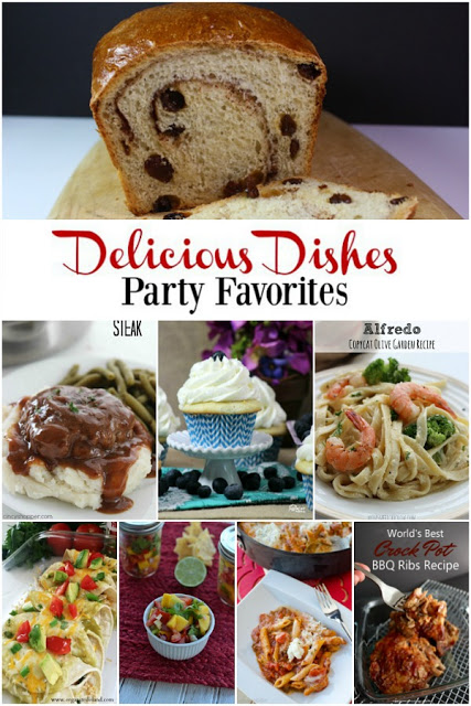 Over 100 delicious recipes being shared with our Delicious Dishes Recipe Party this week!