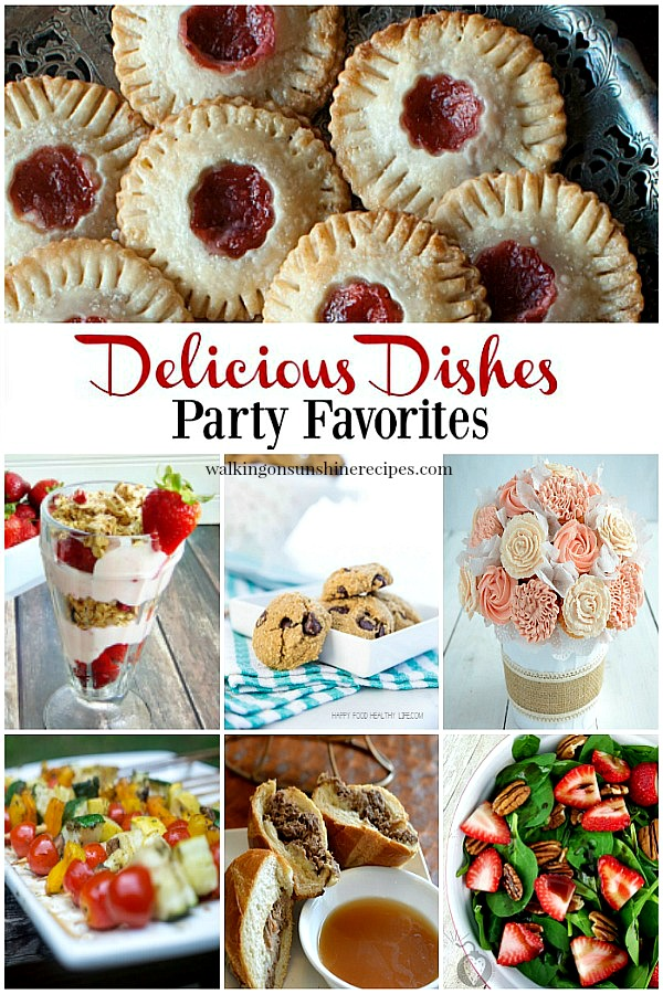 Delicious Dishes Recipe Party from Walking on Sunshine.