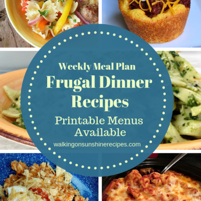 Frugal Dinner Recipes for When You're Broke
