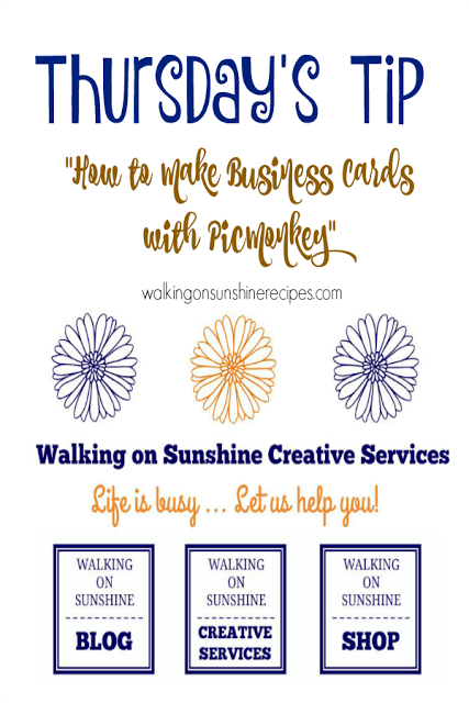 How to Use PicMonkey for Photo Design from Walking on Sunshine Recipes