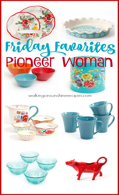Pioneer Woman Housewares Essentials from Walking on Sunshine Recipes