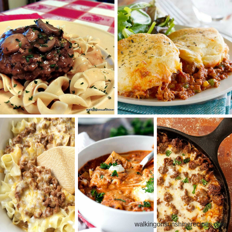 Weekly Meal Plan – Easy and Delicious Ground Beef Recipes