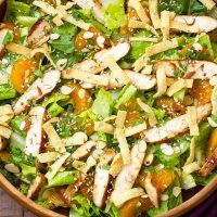 Asian Sesame Chicken Salad Recipe
