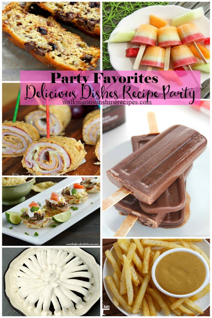 Delicious Dishes Recipe Party Favorites from Walking on Sunshine Recipes