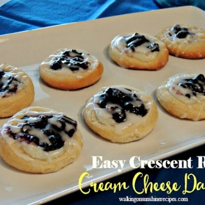 Easy Cream Cheese Danish Recipe