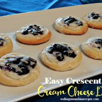 Easy Cream Cheese Danish Recipe with Canned Crescent Rolls