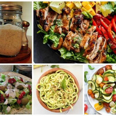 Weekly Meal Plan: Salad Recipes