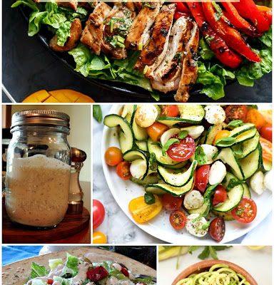 Weekly Meal Plan: Salad Recipes