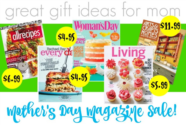 Magazines for Mom - Great Last Minute Gift Ideas for Moms from Walking on Sunshine Recipes.