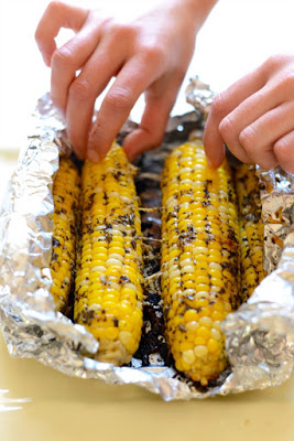 Parmesan Corn from Fit Foodie Finds featured on Walking on Sunshine Recipes