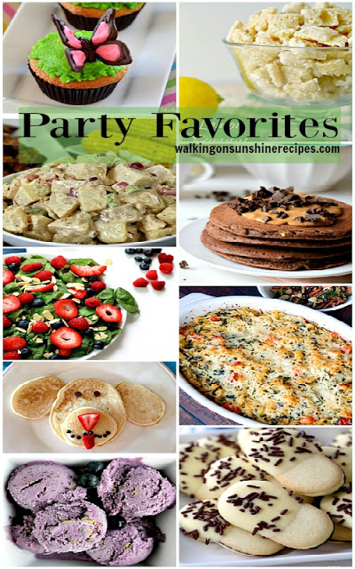 Party Favorites from our recent Delicious Dishes Recipe Party.
