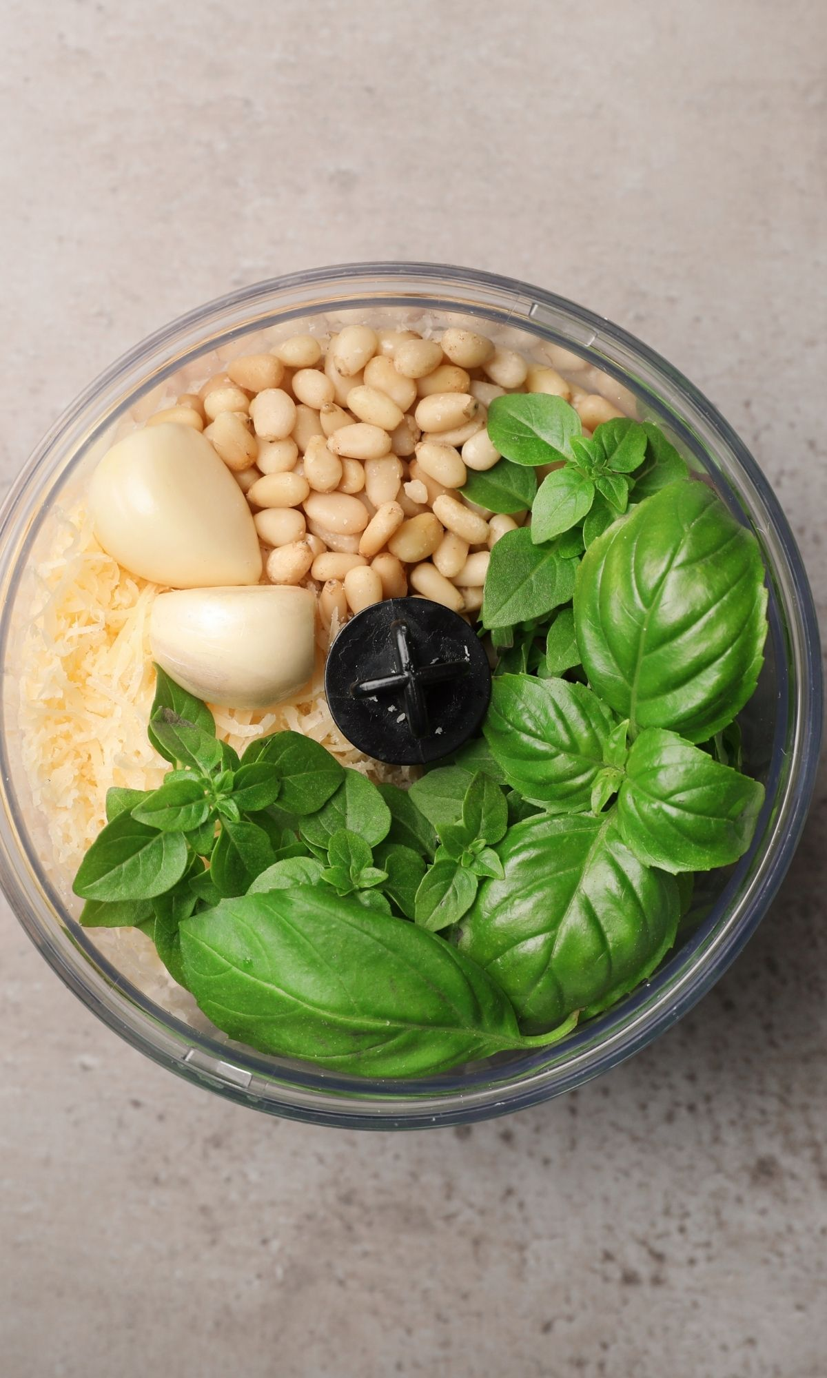 Add ingredients to food processor