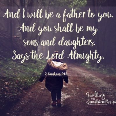2 Corinthians 6:18 – Father's Day without Your Dad