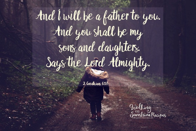 Father's Day without Your Dad - 2 Corinthians 6:18