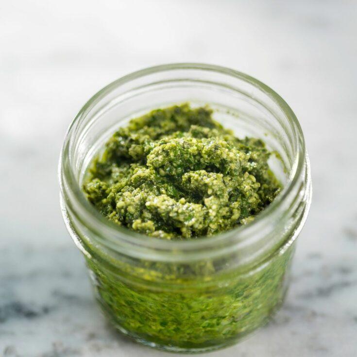 Easy Basil Pesto Sauce Recipe