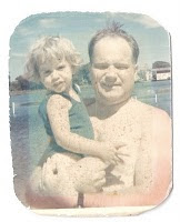 My father and me as a child 1969.