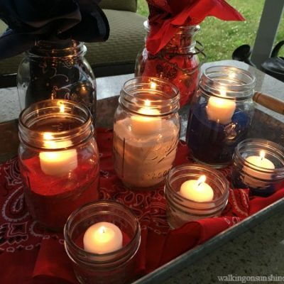 How to Make an Easy and Inexpensive Patriotic Table Centerpiece