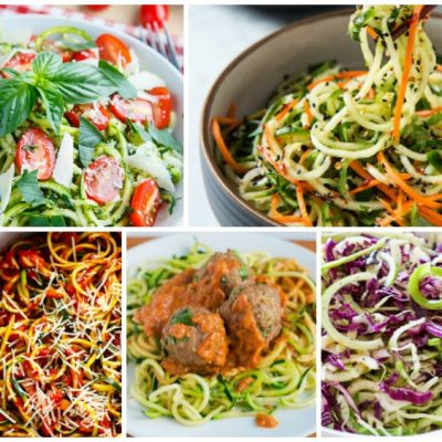 Weekly Meal Plan: How to Make Spiralizer Recipes for Dinner