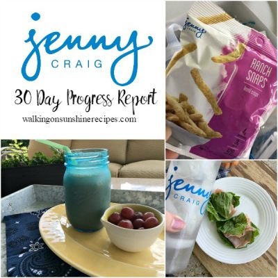 Jenny Craig Weight Loss 6 Week Progress Report