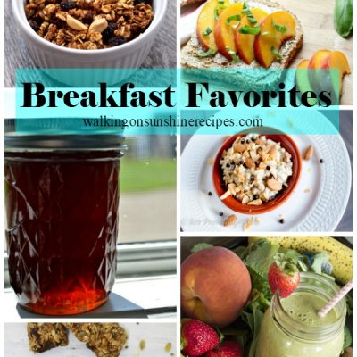 Breakfast Recipes and Foodie Friends Friday Linky Party 207