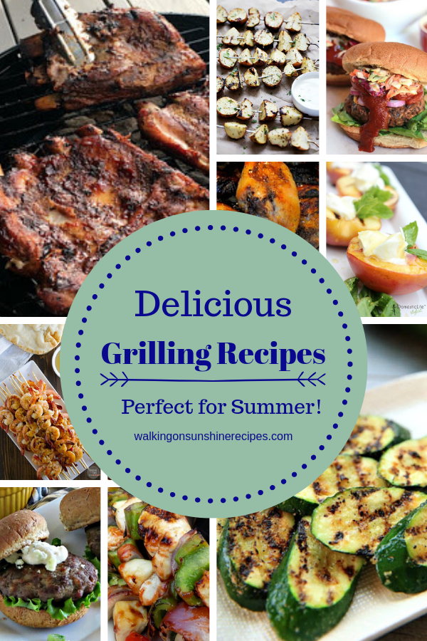 14 different summer grilling recipes