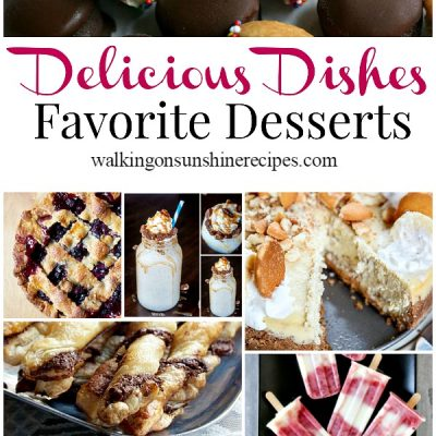 Favorite Dessert Recipes and Delicious Dishes Recipe Party 29