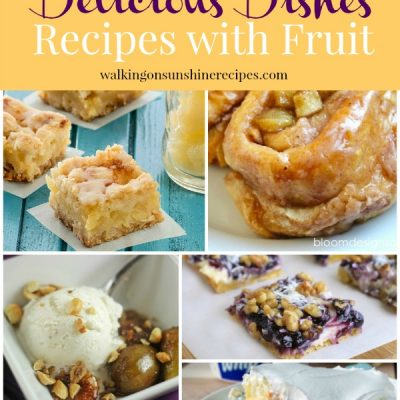 Fruit Desserts with Delicious Dishes Recipe Party 34