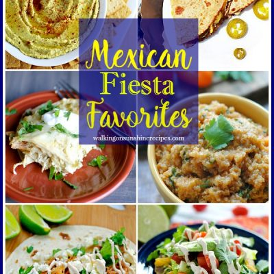 Mexican Fiesta Party Time with Foodie Friends