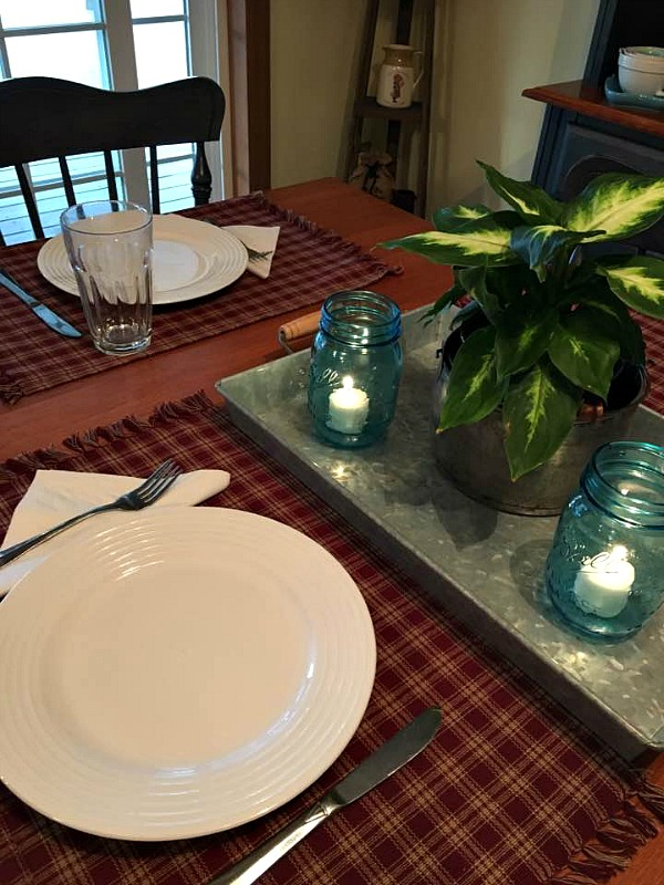 Setting the table for dinner helps make things special on a busy night from Walking on Sunshine.