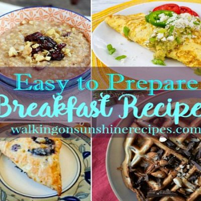 Easy to Prepare Breakfast Recipes with our Foodie Friends