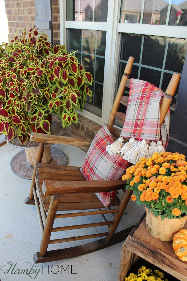 Fall Porch Decor from The Hamby Home