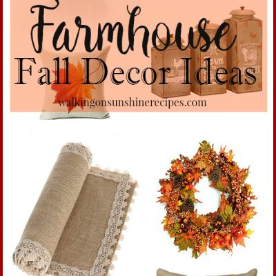 Decorating: How to Get Farmhouse Decorating Ideas for Fall