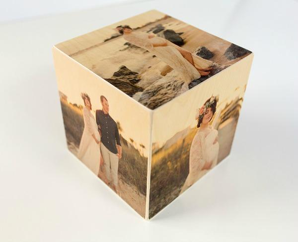 Photo cube featured on Walking on Sunshine.