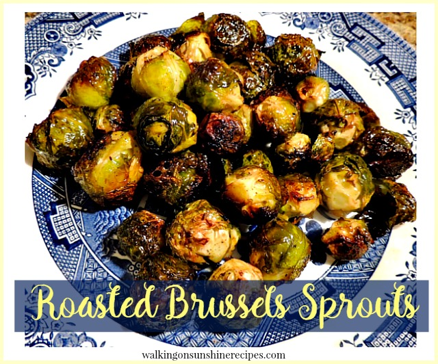 This week's Thursday's Tip is how to roast brussels sprouts from Walking on Sunshine Recipes.