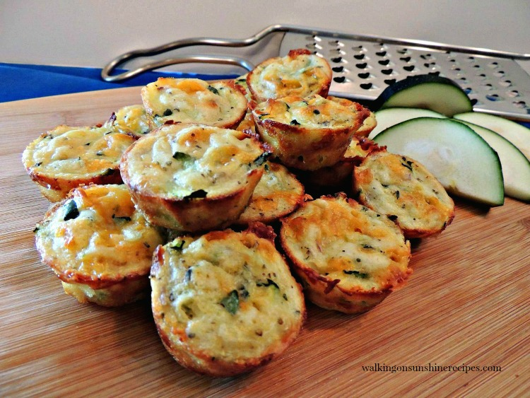 Zucchini Puffs FEATURED photo from Walking on Sunshine Recipes