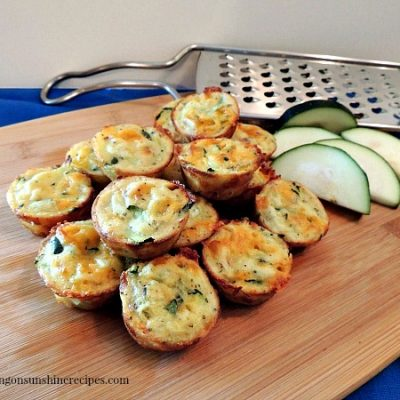 Zucchini:  How to Make Easy Zucchini Puffs Recipe
