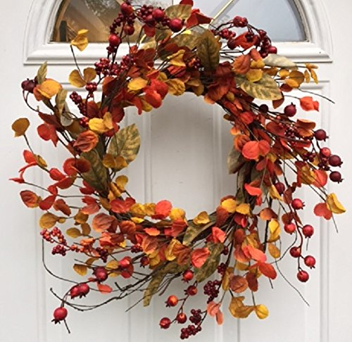Autumn Red Berries Wreath