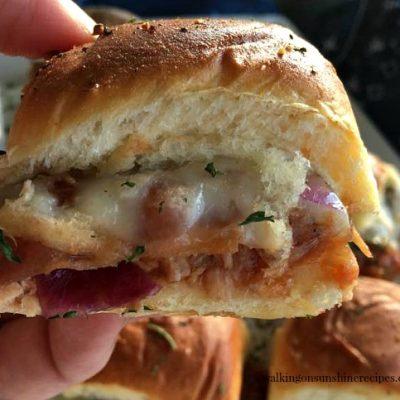 How to Make the Best BBQ Chicken Slider Sandwiches