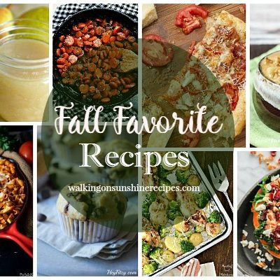 Fall Favorite Recipes with Delicious Dishes Recipe Party