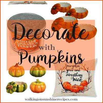 Pumpkin Decor:  How to Decorate with Pumpkins for Fall
