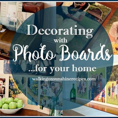 Photo Boards are Great for Decorating and Gifts