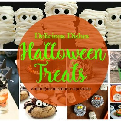 Halloween Treats and Delicious Dishes Recipe Party
