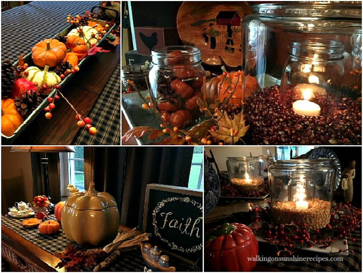 Decorating for Fall while on a budget and without spending a lot of money is possible!
