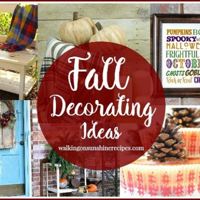 Beautiful Decorating Ideas for Fall and a Party