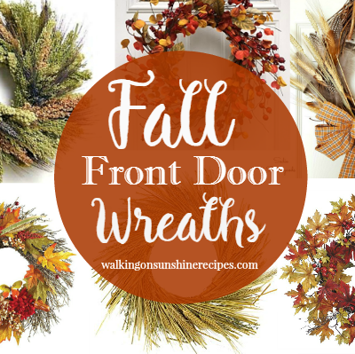 Decorating:  How to Decorate for Fall with Wreaths