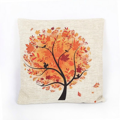 Fall Leaves PillowCover featured on Walking on Sunshine.