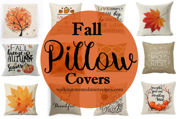 Pillow Covers: How to Decorate with Ease from Walking on Sunshine.
