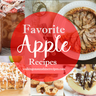 Party: Favorite Apple Recipes and Foodie Friends Friday