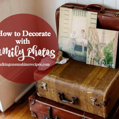 How to Decorate and Display Family Photos