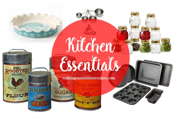 Kitchen Essentials: How to Get the Farmhouse Look with your kitchen tools from Walking on Sunshine Recipes.